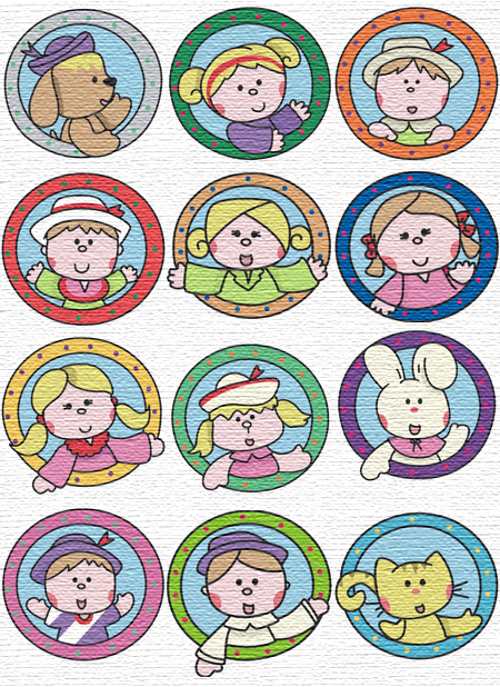 Porthole embroidery designs