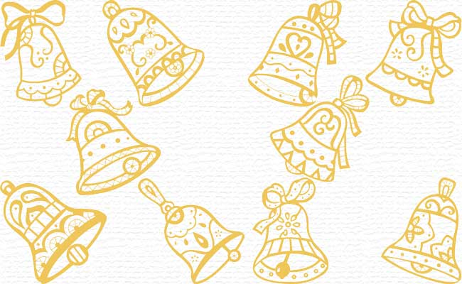 Bells embroidery designs