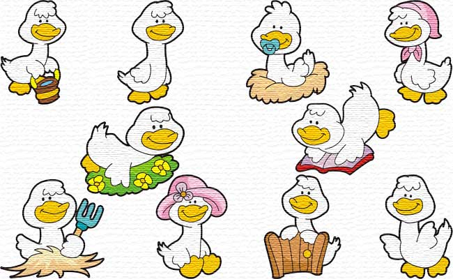 Gooses embroidery designs