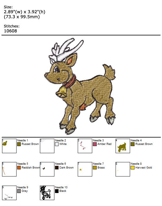 Xmas Time custom embroidery design